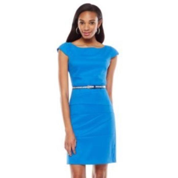 Plus size career / professional / work dress
